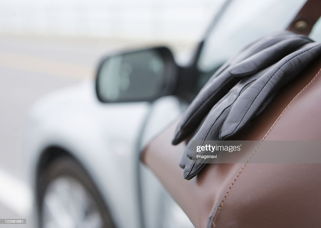 Gloves on the bag