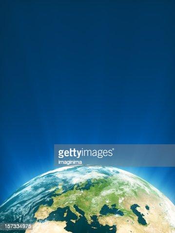 Glowing Globe Series - Europe