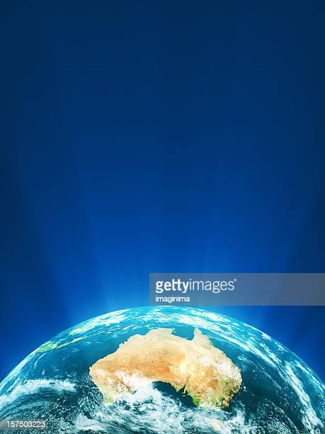 Glowing Globe Series - Oceania