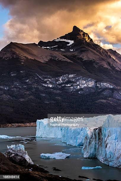 Glowing Peak and Perito Moreno Glacier