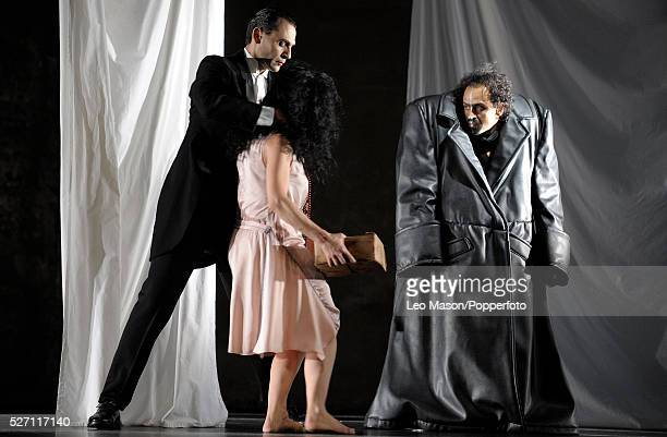 Gluck's PINA BAUSCH performed by Tanztheater Wuppertal at Sadler's Wells London UK Agamemnon Medium and Thoas