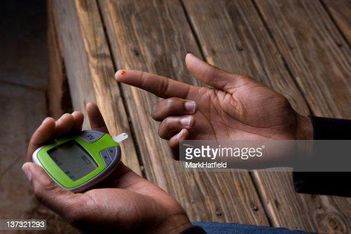Glucose Monitor Blood Test