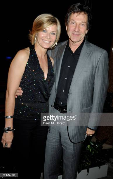 Glynis Barber and Michael Brandon attend the afterparty following the UK film premiere of 'The Duchess' at The Foreign and Commonwealth Office on...