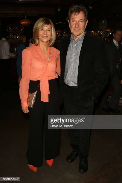 Glynis Barber and Michael Brandon attend the press night after party for 'The Exorcist' at 100 Wardour St on October 31 2017 in London England