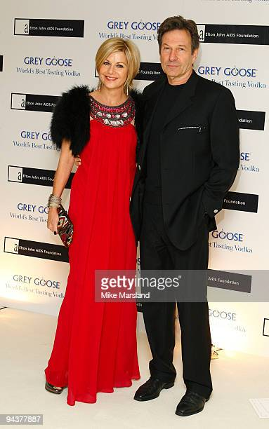 Glynis Barber and Michael Brandon attends the Grey Goose Character Cocktails winter fundraiser in aid of the Elton John AIDS Foundation at The...