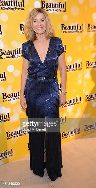 Glynis Barber attends an after party following the press night performance of 'Beautiful The Carole King Musical' playing at the Aldwych Theatre at...