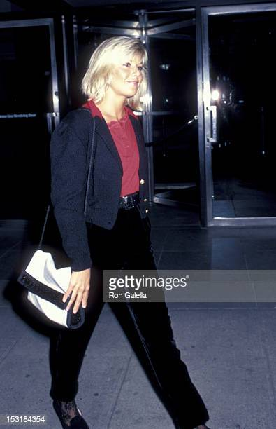 Glynis Barber attends the screening of 'After Hours' on September 11 1985 at the Museum of Modern Art in New York City