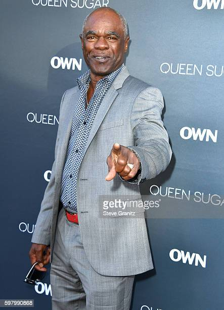 Glynn Turman arrives at the Premiere Of OWN's 'Queen Sugar' at Warner Bros Studios on August 29 2016 in Burbank California