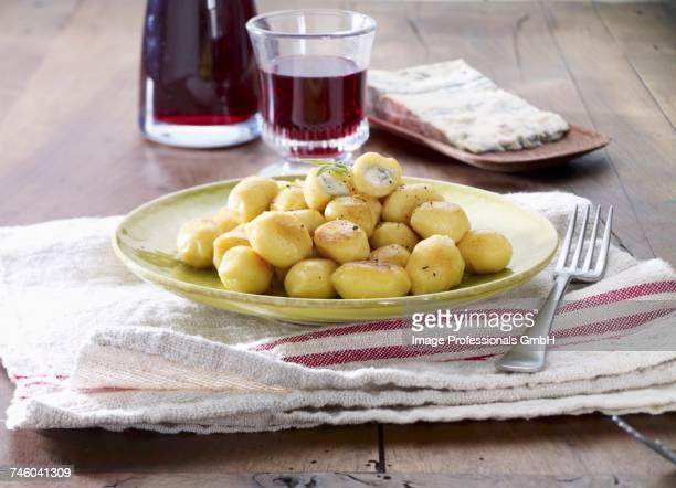 Gnocchis with gorgonzola