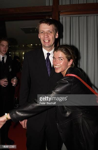 Günther Jauch Anke Engelke Verleihung 'Grimme Preis 2002' Marl