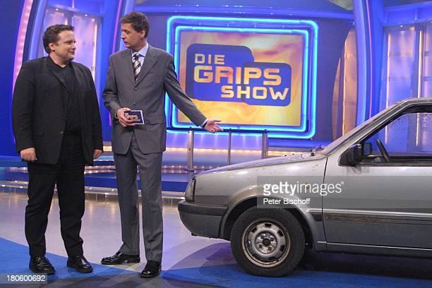 Günther Jauch Thomas Klein Köln RTL 'GripsShow' Bühne Auftritt Moderator Auto Nissan Micra