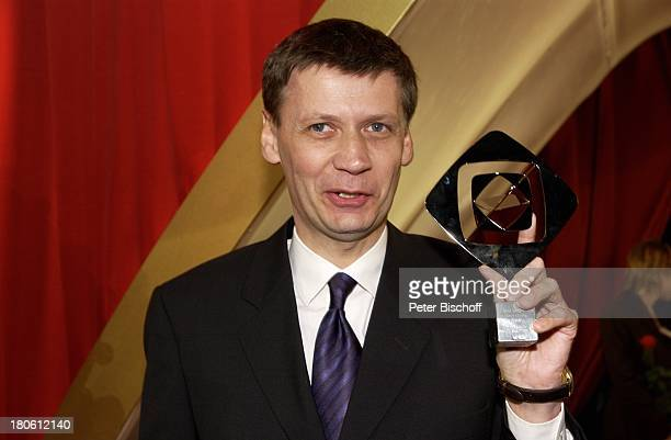 Günther Jauch Verleihung 'Grimme Preis 2002' Marl Auszeichnung Preis