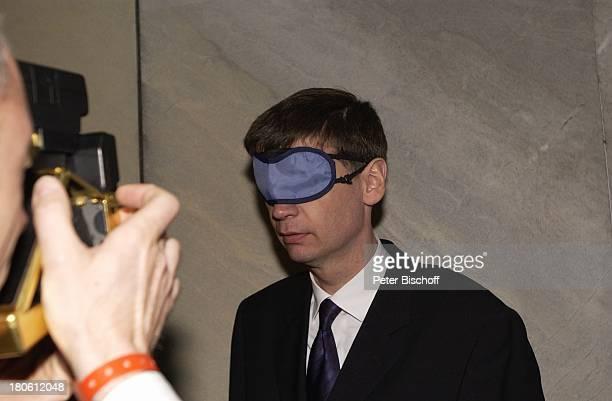 Günther Jauch Verleihung 'Grimme Preis 2002' Marl blind Augenklappe Nachtschwärmer
