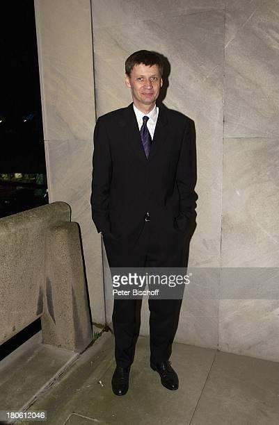 Günther Jauch Verleihung 'Grimme Preis 2002' Marl Ganzkörper