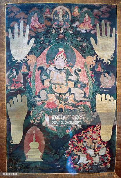 GnyaKhri btsanPo the legendary first king of Tibet reincarnation of the bodhisattva Avalokitesvara one of the the temporal and spiritual leaders of...