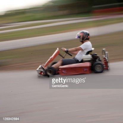 Go karting : Stock Photo