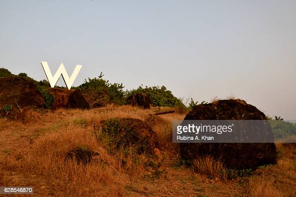 Goa the first W hotel in India marks its terrain on the idyllic Goan landscape on December 8 2016 in Goa India
