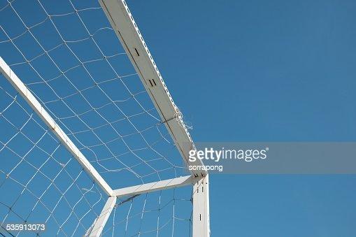 Objectivo de céu azul : Foto de stock