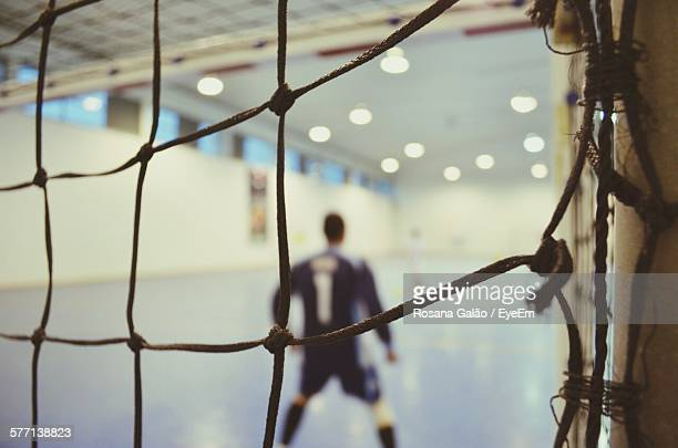 Goal In Sports Hall