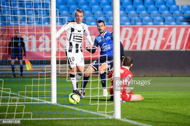 Goal Kamil GROSICKI Troyes / Rennes 21eme journee de Ligue 1 Photo Dave Winter / Icon Sport