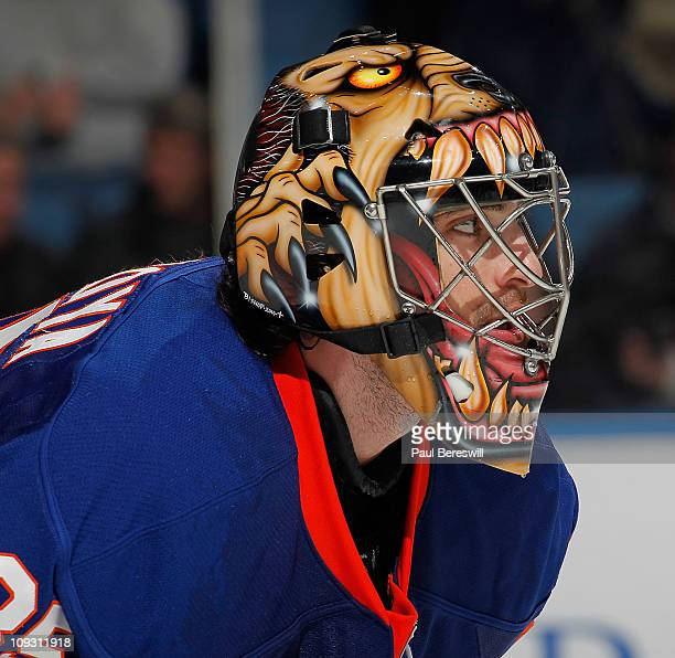 Al Montoya New York Islanders Mask