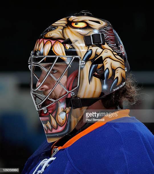 Al Montoya New York Islanders Mask