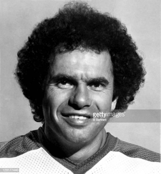 Goalie Joe Daley of the Winnipeg Jets poses for a portrait in September 1978 in Winnipeg Manitoba Canada