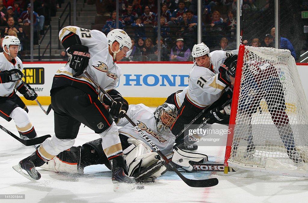 Anaheim Ducks v Colorado Avalanche