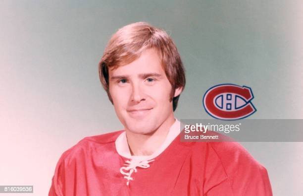 Goalie Ken Dryden of the Montreal Canadiens poses for a portrait circa 1976 in Montreal Quebec Canada