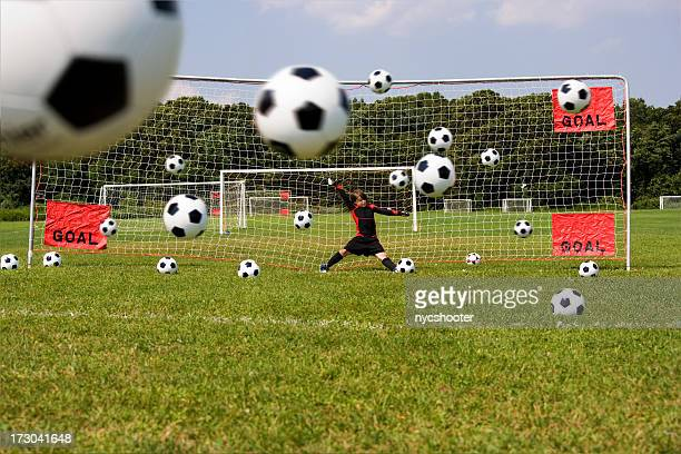 Goalie practice