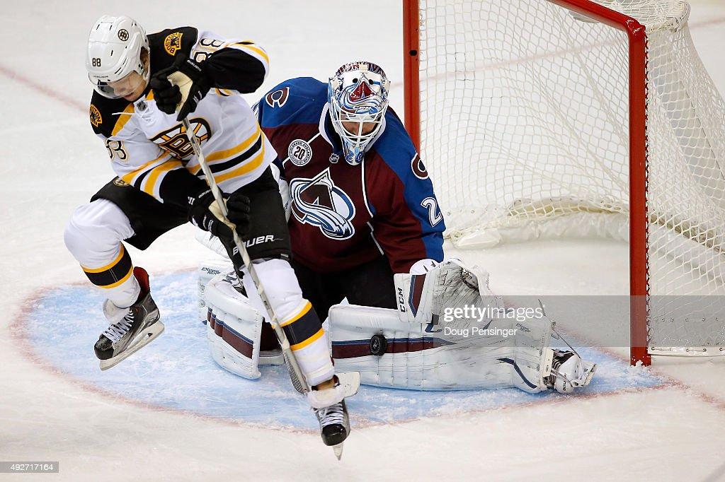 Boston Bruins v Colorado Avalanche