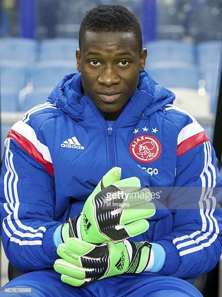 goalkeeper Andre Onana of Ajax during the Dutch Eredivisie match between Vitesse and Ajax at the Gelredome on february 1 2015 in Arnhem the...