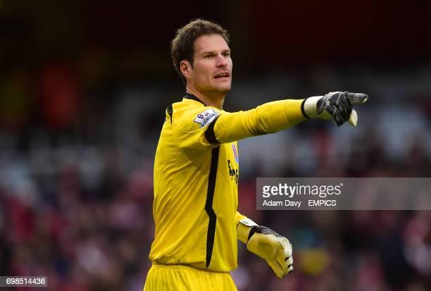 Goalkeeper Asmir Begovic Stoke City