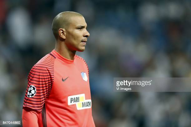 goalkeeper Boy Waterman of APOEL FC during the UEFA Champions League group H match between Real Madrid and APOEL FC on September 13 2017 at the...