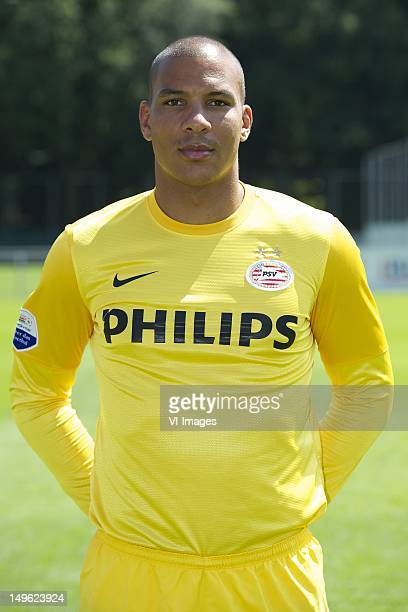 goalkeeper Boy Waterman of PSV during the Photo Call of PSV Eindhoven at the Philips Stadium on August 01 2012 in Eindhoven The Netherlands
