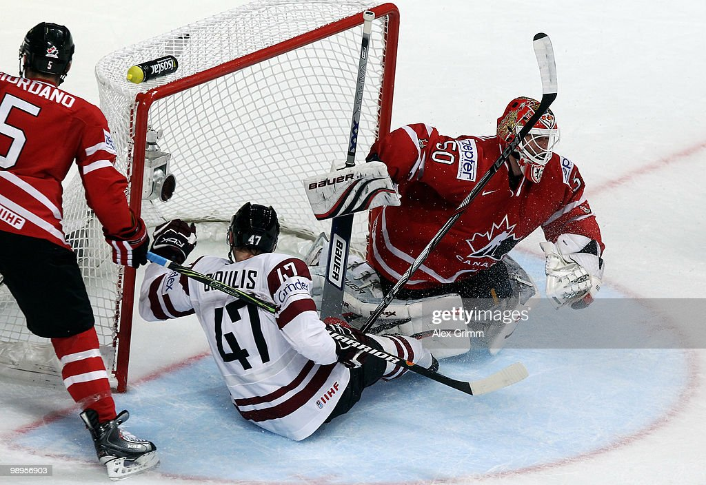 Latvia v Canada - 2010 IIHF World Championship