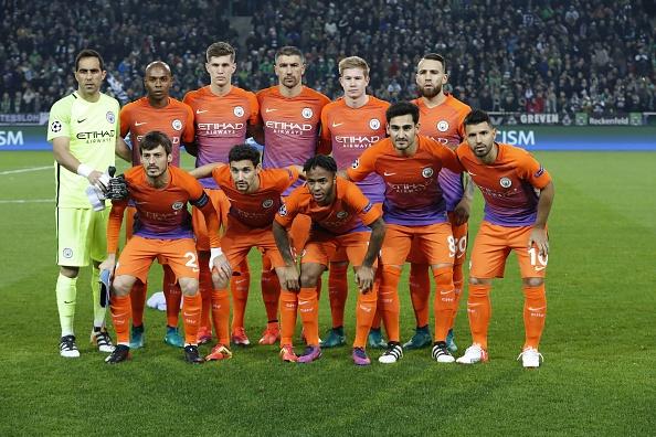 UEFA Champions League'Borussia Monchengladbach v Manchester City' : News Photo