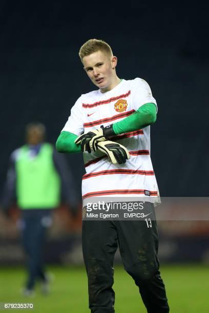 Goalkeeper Dean Henderson Manchester City