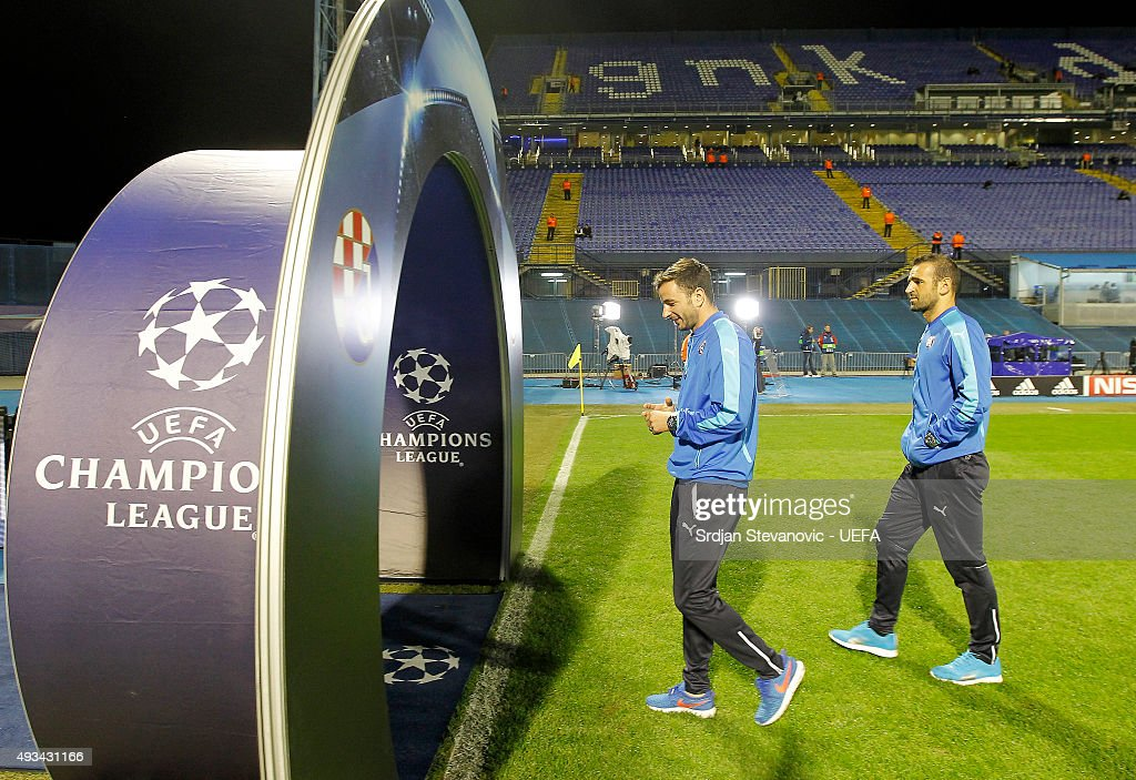 GNK Dinamo Zagreb v Olympiacos FC - UEFA Champions League