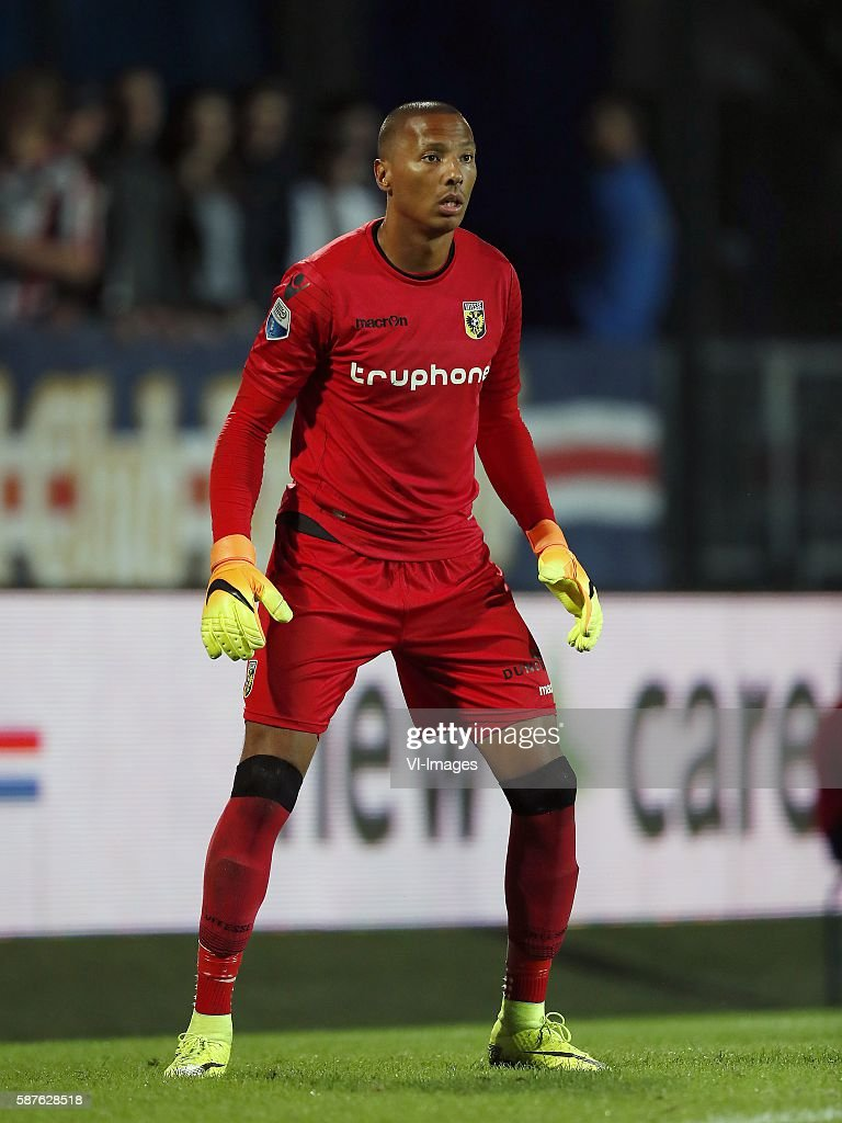 goalkeeper Elroy Room of Vitesse during the Dutch Eredivisie match between Willem II and Vitesse on august 6 2016 at the Koning Willem II stadium in...