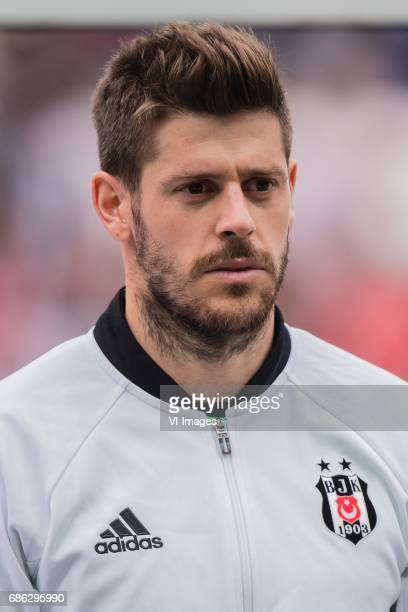 goalkeeper Fabricio Martin Agosto Ramirez of Besiktas JKduring the Turkish Spor Toto Super Lig football match between Besiktas JK and Kasimpasa AS on...