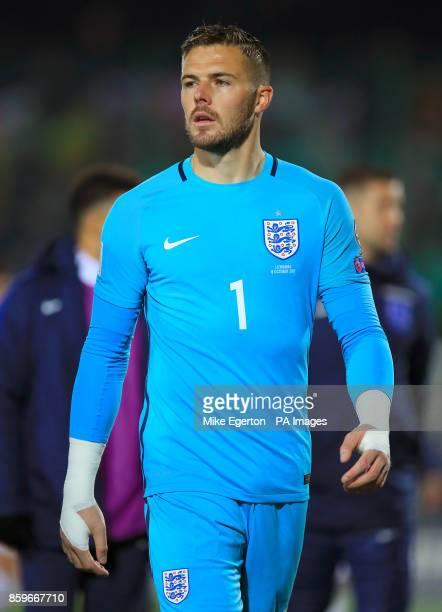 Goalkeeper Jack Butland England