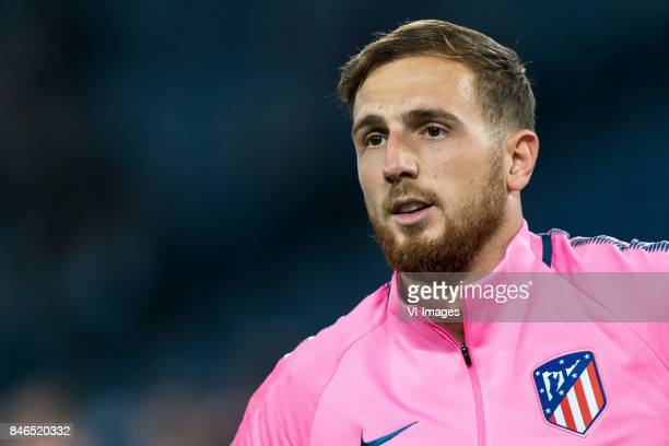 goalkeeper Jan Oblak of Club Atletico de Madrid during the UEFA Champions League group C match match between AS Roma and Atletico Madrid on September...