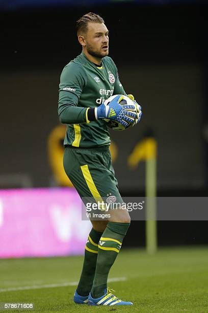 Goalkeeper Jeroen Zoet of PSV during the GelreDome tournament match between PSV Eindhoven and FC Porto on July 21 2016 at the Gelredome stadium in...