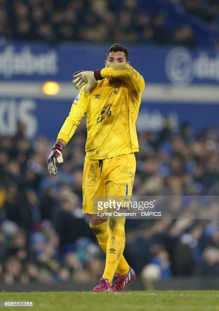 Goalkeeper Joel Robles Everton