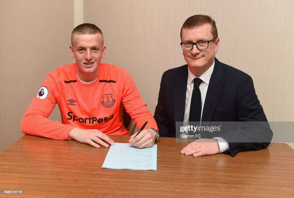 Everton Announce the Signing of Jordan Pickford