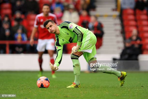 Goalkeeper Karl Darlow Nottingham Forest
