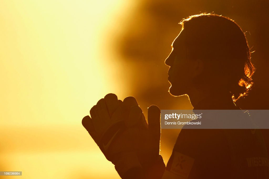 Goalkeeper Kevin Otremba of Bremen looks on during a training session at day six of the Werder Bremen Training Camp on January 10, 2013 in Belek, Turkey.