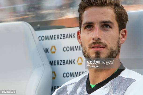 Goalkeeper Kevin Trapp of Germany looks on during the FIFA 2018 World Cup Qualifier between Germany and San Marino at Stadion Nuernberg on June 10...