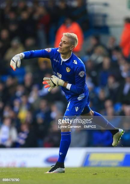 Goalkeeper Marco Silvestri Leeds United
